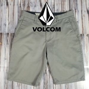 Volcom Mens Shorts 30W Gray 5 Pocket.